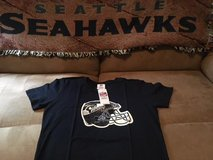 SEATTLE SEAHAWKS - NFL Team Apparel Women's T-Shirt (Navy Medium) *** NEW *** in Fort Lewis, Washington