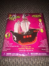 New!  Halloween Haunted Pirate Ship Craft 3D Foam Kit (2 available) in Glendale Heights, Illinois