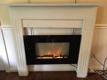 Mantle & Electric Fireplace in Beaufort, South Carolina