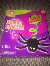 New!  Halloween Giant Dangling Spider Craft - 3 ft tall! in Glendale Heights, Illinois