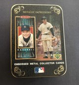Mickey Mantle 1996 Upper Deck Baseball Heroes 5 Metallic Card Set with Collectors Tin in Tacoma, Washington