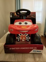 Cars Lightning McQueen Battery Powered Ride-on in Wilmington, North Carolina