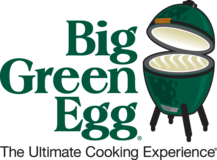 Large Big Green Egg w/ Table & Accessories in Stuttgart, GE