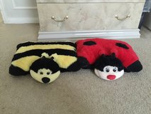 Lady bug & honey bee pillow in Spring, Texas