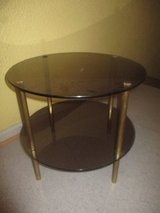 Glass side table in Ramstein, Germany