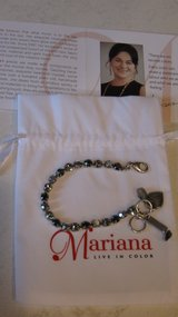Mariana Petite Crystal Bracelet-Black Diamond Collection in Oswego, Illinois