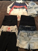 Girls leggings,shorts and skirts size 7/8 in Travis AFB, California