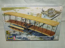 Wright Flyer Plastic Kit by Revell 1:39 Scale First Powered Flight in Bolingbrook, Illinois
