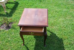 Antique Side Table w Drawer in Fort Polk, Louisiana