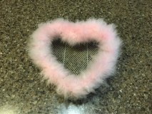 Furry Pink Heart Room Decor in Plainfield, Illinois