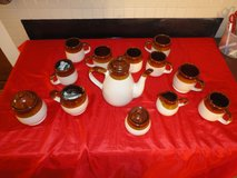 vintage retro coffee/tea complete set in The Woodlands, Texas