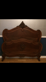 Antique Full Size Bed Frame in Fairfield, California