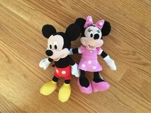Mickey and Minnie in Yorkville, Illinois