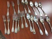 Silver flatware in St. Charles, Illinois