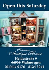 Susanne's Antique Open House on Saturday 13 October 10.00-18.00 Hours in Spangdahlem, Germany