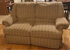 100% free reclining loveseat and matching reclining couch in Baytown, Texas