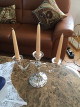 Heavy Silver Plated Candelabra    from WMF  with extra candles in Stuttgart, GE