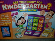 Are you ready for kindergarten? GAME in Fort Hood, Texas