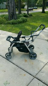Joovy caboose  double tandem sit and stand stroller in Oswego, Illinois