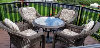 outdoor patio furniture - wicker in Chicago, Illinois