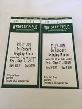 2 Tickets For Billy Joel on Sept 7th in Joliet, Illinois