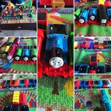 14 Thomas Trains and cargo with playmat in Quantico, Virginia