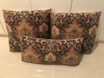 Moroccan Feather Couch Pillows in Okinawa, Japan