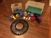 Complete 16 piece hamster/gerbil set in Lockport, Illinois