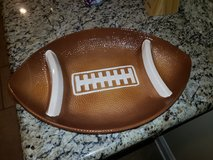 Football Chip and Dip Tray in Fort Polk, Louisiana