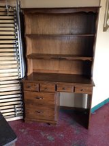 Desk With Hutch (2 piece) in Leesville, Louisiana