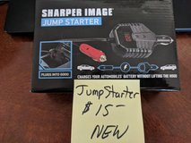 JUMP STARTER by Sharper Image  (Brand New) in 29 Palms, California