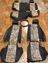 Custom Jeep Wrangler Neoprene Seat Covers in Fort Leonard Wood, Missouri