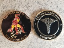 Ironman Corpsman Challenge Coins in Camp Pendleton, California