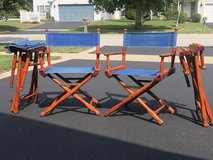 Director's chairs (set of 4) in Aurora, Illinois