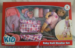 Kid Connection~ Baby Doll Stroller Set in Cherry Point, North Carolina