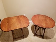 ANTIQUE  WILLIAM & MARY DROP LEAF SIDE TABLES in Fort Knox, Kentucky