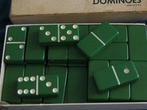 Vintage Green Dominoes from the 50's in Lawton, Oklahoma