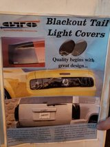 1999 - 2002 Ford Mustang Blackout Taillights Covers GT4192 in Fort Belvoir, Virginia