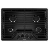 "Amana 30"" Gas Cooktop 4 Burners AGC6540KFB/W Closeout in Tacoma, Washington"