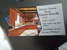 Dianna's cleaning services in Macon, Georgia