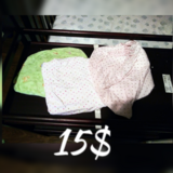Baby fitted sheets x3 in Warner Robins, Georgia
