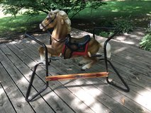 Vintage Flexible Flyer Riding/Bouncing Horse with Springs in Glendale Heights, Illinois