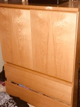 Solid Oak dresser in St. Charles, Illinois