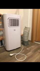 Air conditioning unit in Spangdahlem, Germany