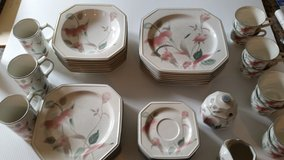 Set of dishes in Fort Drum, New York