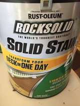 Rustoleum Navajo Red Deck Stain gallon in Beaufort, South Carolina