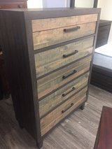 BRAND NEW! METRO 2TONE TALL CHEST OF DRAWERS / TALL DRESSER in Camp Pendleton, California