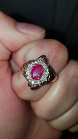 Gold ruby ring in Lawton, Oklahoma