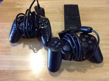 Used PS2 controllers and tv remote. in Camp Pendleton, California