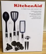 Kitchenaid 15 PC Tools & Gadget Set NIB in Fort Irwin, California